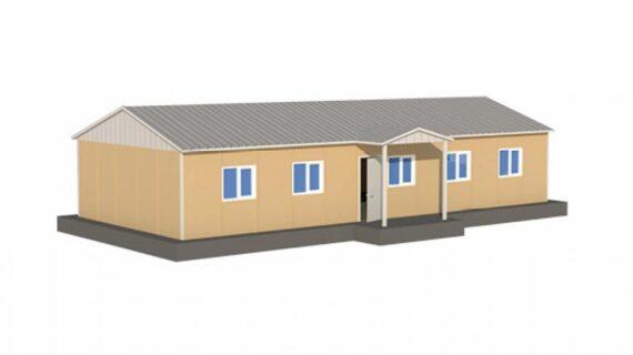 101 m2 Prefabrik Ofis