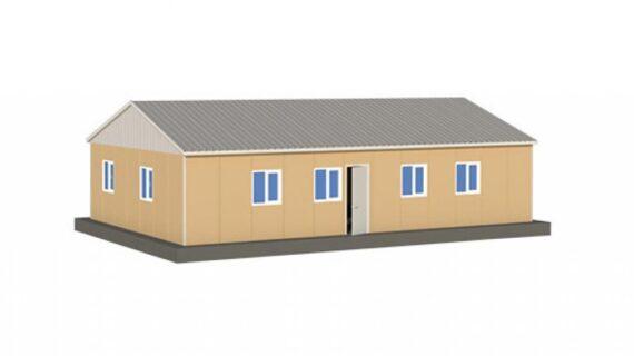 136 m2 Prefabrik Ofis