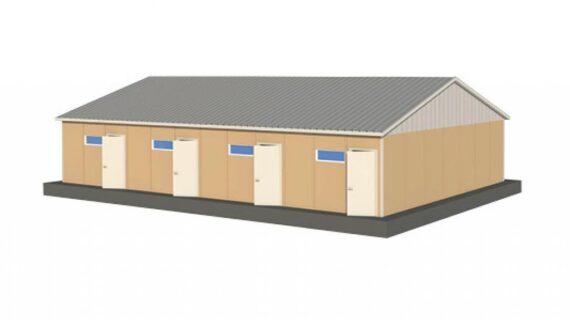 137 m2 Prefabrik Yatakhane