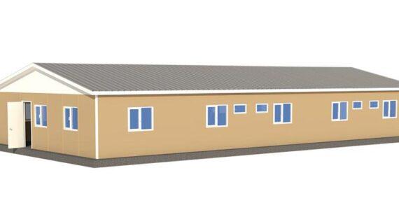 170 m2 Prefabrik Mühendis Yatakhane