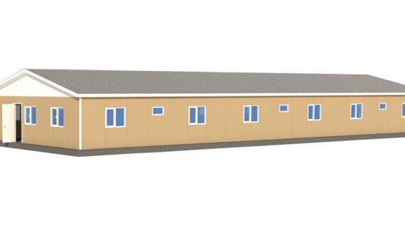 237 m2 Prefabrik Yatakhane