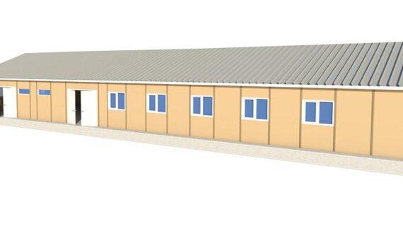 237 m2 Prefabrik Yemekhane