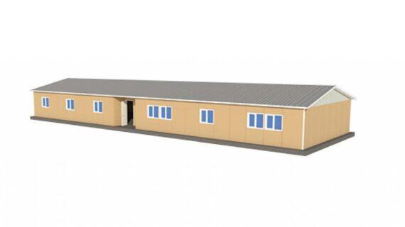 249 m2 Prefabrik Ofis