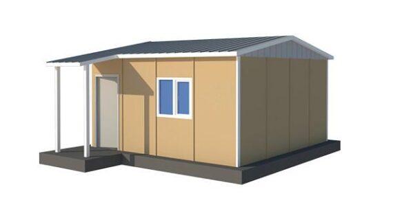 33 m2 Prefabrik Acil Afet Binası