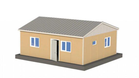50 m2 Prefabrik Ofis