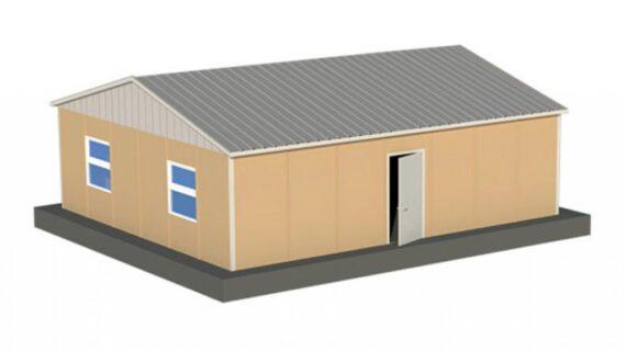 68 m2 Prefabrik Yatakhane