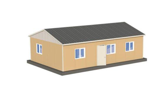 82 m2 Prefabrik Ofis