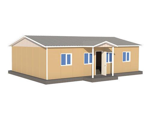 90 m2 Prefabrik Çamaşırhane Binası